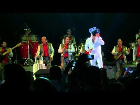 Pancho Barraza en Puerto Vallarta Inicio concierto