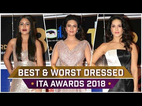 Sunny Leone, Divyanka Tripathi, Surbhi Chandna : Best & Worst Dressed at the ITA Awards 2018