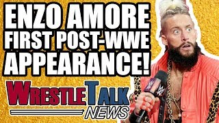 Impact Wrestling Vs UK! Enzo Amore First Post WWE Appearance REVEALED! | WrestleTalk News May 2018