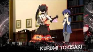 Date A Live 2 Kurumi Bra Scene [HD]
