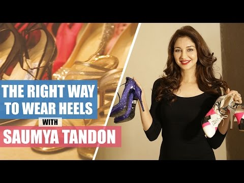 Xxx Mp4 Saumya Tandon On The Right Way To Wear High Heels How To Wear High Heels Fashion Pinkvilla 3gp Sex