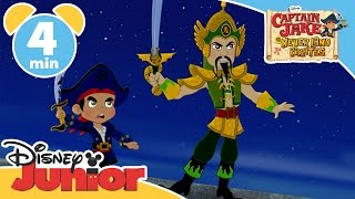 Captain Jake and the Never Land Pirates | The Forbidden City | Disney Junior UK