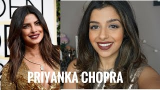 Priyanka Chopra | Golden Globes Inspired Make-Up | 2017