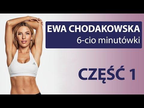 Trening część 1 6min Ewa Chodakowska
