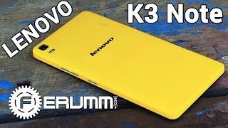 Lenovo K3 Note обзор. Подробный обзор Lenovo K3 Note K50 t5 честно и без «воды» от FERUMM.COM