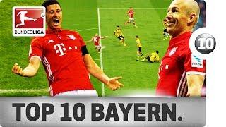 Top 10 Goals - Bayern München – Season 2016/17