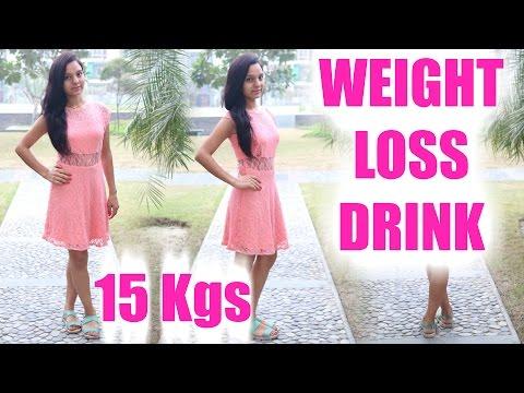 Loose 15kgs in 4 weeks   Detox & Weight Loss Drinks   PrettyPriyaTV