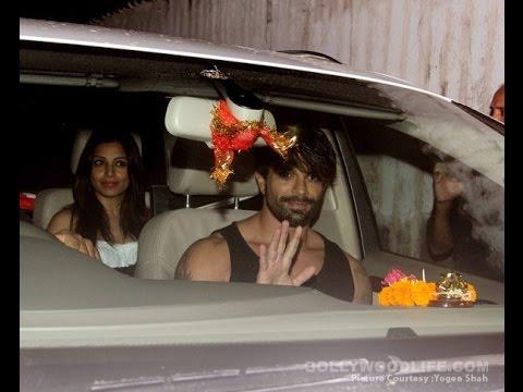 Uncut | Bipashu Basu and karan Singh Grover spotted at In Juhu | Bollywood 2016
