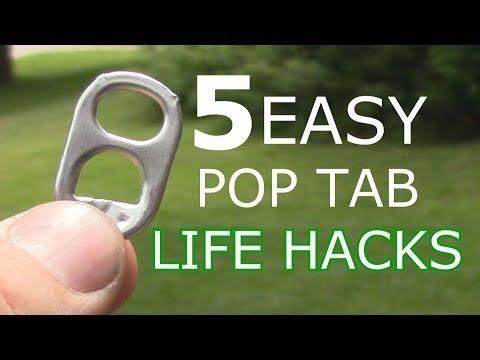 5 Easy Pop Tab Life Hacks