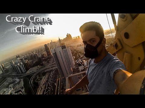 Xxx Mp4 CRAZY CRANE CLIMB SKY SPIRAL TOWER 709 Feet 3gp Sex