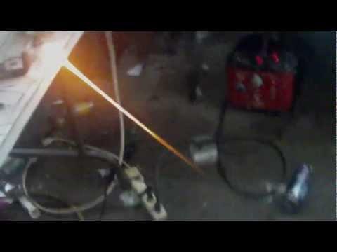 Huge HHO Flame