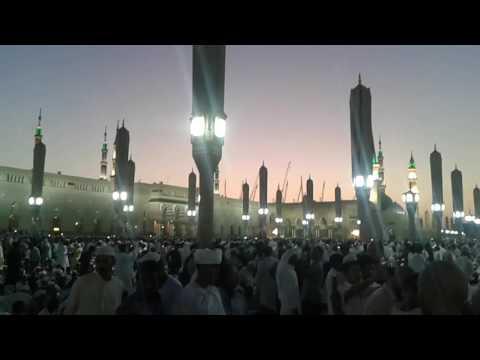 مدینہ منورہ  میں عید کا دن