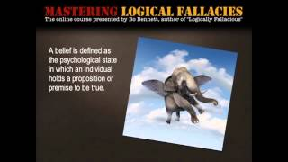 Mastering Logical Fallacies Lesson 1: Introduction to Logical Fallacies