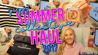 "HUGE ""PREPPY"" SUMMER COLLECTIVE HAUL 2017 (Vineyard Vines, Sperry, Essie & MORE!)  