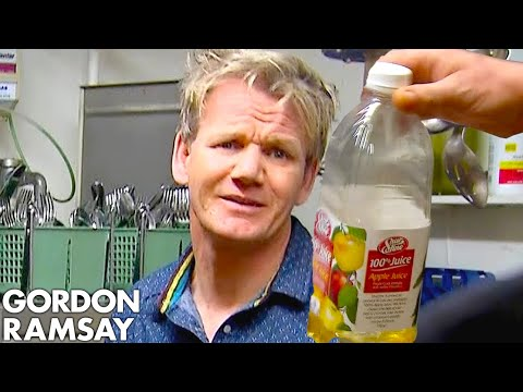 Ramsay Can't Handle Being Served APPLE JUICE Risotto Hotel Hell