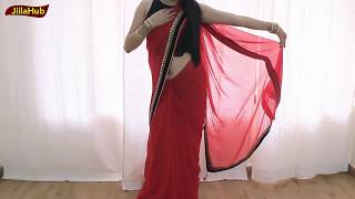 Bollywood New Trend Saree Draping With Sneaker Shoes | Indo Western Saree(Sari Top Sneaker) Wear