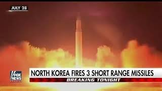 ALERT - NORTH KOREA MISSILE PROVOCATION AS HURRICANE HARVEY APPROACHES