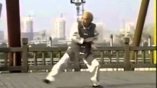 90 Years old man - Dancing Taichi Form