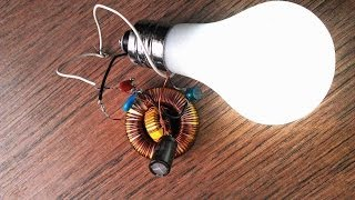 Free Energy Generator Led Light Bulb