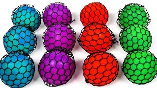 Learn Colors with Squishy Balls for Kids and Children