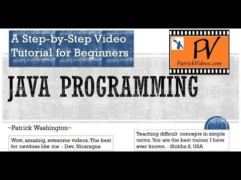 Java Programming - Step by Step tutorial