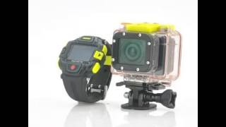 Full HD Action Camera 'Eyeshot' with Wi Fi and Watch Remote Control   1920x1080p, Panasonic Sensor,