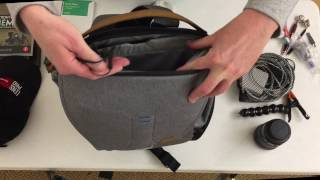 PeakDesign 30L Everyday Backpack Review - How does it handle a camera and clothing?