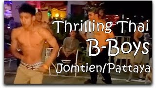 Thrilling Thai B-Boys Jomtien Complex BC Bar Eye Candy!