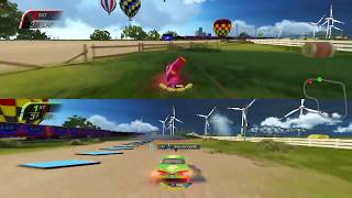 Cars 3: Driven to Win (PS4) Multiplayer Gameplay - Guido vs. Ramone (Subscriber Requests)