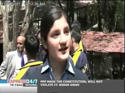 Pakistani students visit India