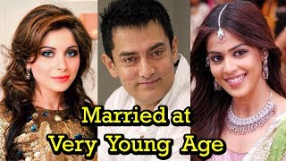 Top 10 Bollwood Celebrity Who Married at Very Early Age | 2017