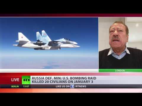 US B 52 bombed Idlib Syria killing over 20 civilians – Russian MoD