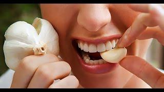 هل تعلم ماذا يحد ث لصحتك  عند تناول الثوم يوميا على الريق !!