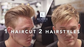 Men's hairstyles 2 in 1 haircut . Hair inspiration.