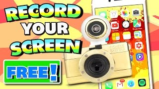 Get Screen Recorder for iPhone, iPad, iPod Touch FREE - 2017!!! (NO COMPUTER) (NO JAILBREAK)