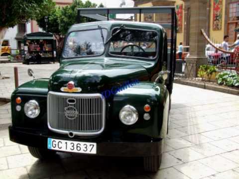 Exposición vehiculos antiguos en GÁLDAR 2010.CAMIONES .