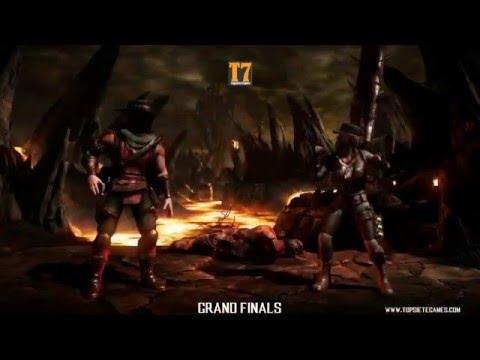MKX - ESL - S2 - SonicFox (Erron Black) vs  Scar (Kung lao, Sonya) Grand Finals