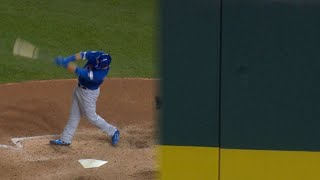 CHC@WSH Gm5: Schwarber dents wall with long single