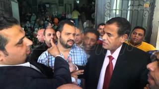 إعتصام موظفى الأوقاف من الديوان إلى مجلس الشعب