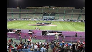 تدريب الفراعنة الأخير من ملعب القاهرة الدولي قبل سفر الفراعنة غدا الي روسيا 🇪🇬