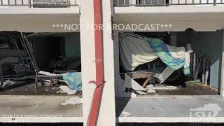 10-17-2018 Mexico Beach, Fl Governor Hotel entire 2nd floor blown out and roof ripped off