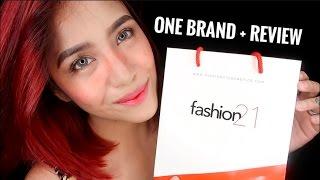 FASHION 21 Cosmetics   ONE BRAND   EASY EVERYDAY Summer Makeup   Jessica Godinez