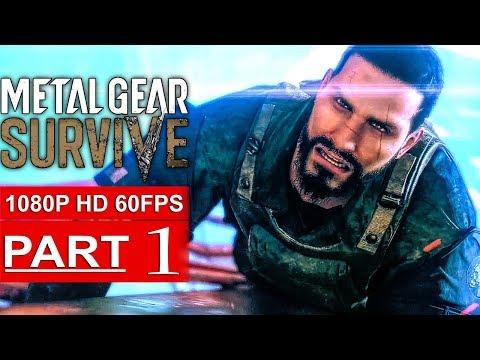 Xxx Mp4 METAL GEAR SURVIVE Gameplay Walkthrough Part 1 Campaign 1080p HD 60FPS PS4 PRO No Commentary 3gp Sex