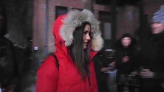 Nina Dobrev on the film set of xXx: The Return of Xander Cage