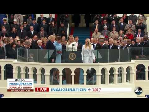 watch Donald Trump Sworn in as 45th President of the United States of America