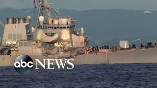 Captain says he gave warning before deadly ship crash
