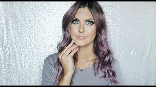 PURPLE HAIR & BIG ANNOUNCEMENT!!! | Paige Danielle