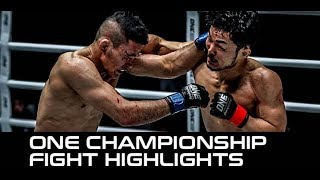 ONE Clash of Legends Highlights: Best KOs, Submissions & Fights