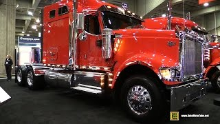 2015 International 9900 Truck with Cummins ISX 450hp Engine - Exterior Walkaround - 2015 Expocam MTL