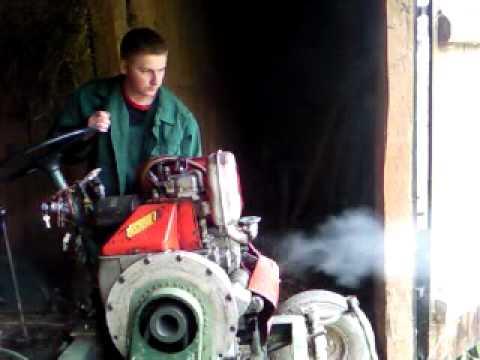 Silnik 1Ca90 odpalanie na zimnie